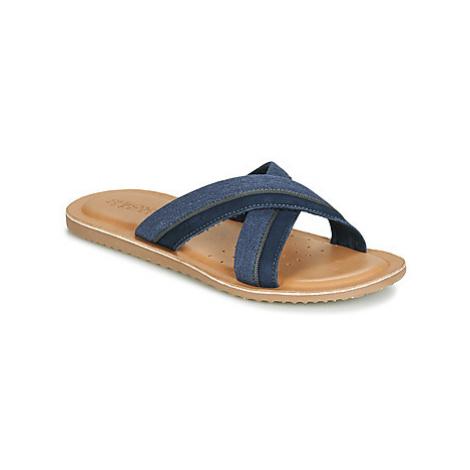Geox U ARTIE men's Mules / Casual Shoes in Blue