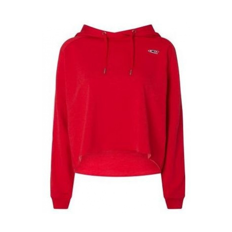 O'Neill LW WAVE CROPPED HOODY red - Women's hoodie