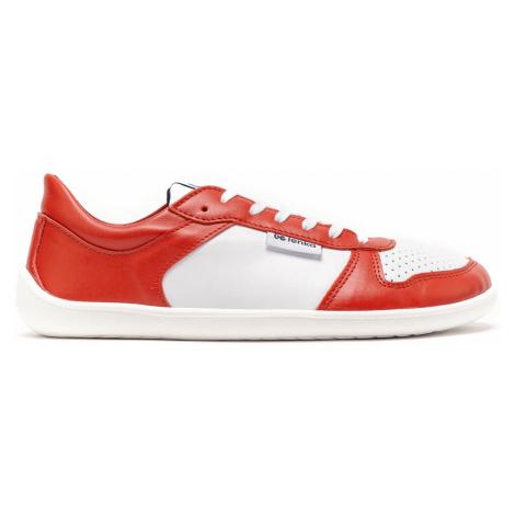 Barefoot Sneakers - Be Lenka Champ - Patriot - Red & White 35