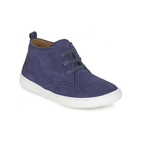Citrouille et Compagnie FANTASIO boys's Children's Mid Boots in Blue