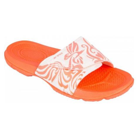 Aress ZUZA white - Children's slippers