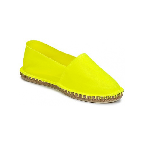 Art of Soule FLUO women's Espadrilles / Casual Shoes in Yellow
