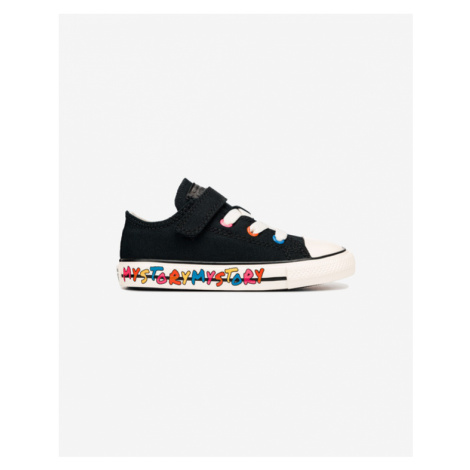Converse Chuck Taylor All Star 1V Star My Story OX Kids Sneakers Black