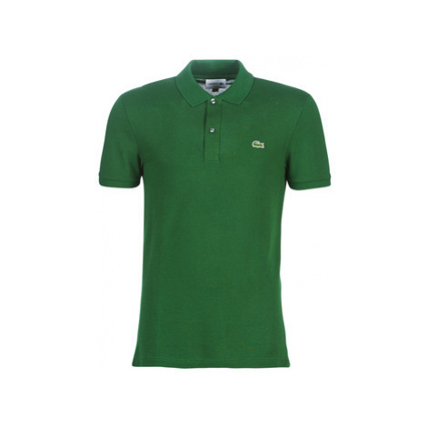 Lacoste PH4012 SLIM men's Polo shirt in Green