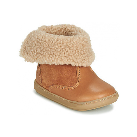 Shoo Pom BOUBA FUR BOOTS girls's Children's Mid Boots in Brown