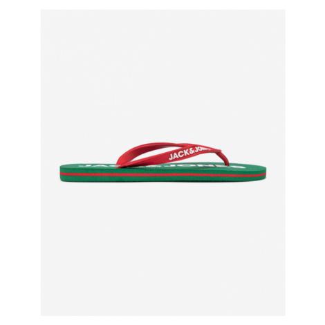 Jack & Jones Flip-flops Green Red