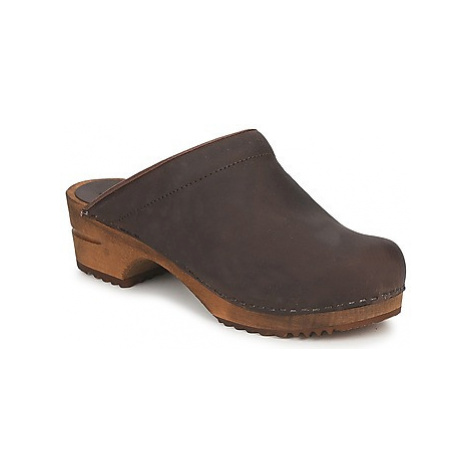 Sanita CHRISSY OPEN women's Clogs (Shoes) in Brown