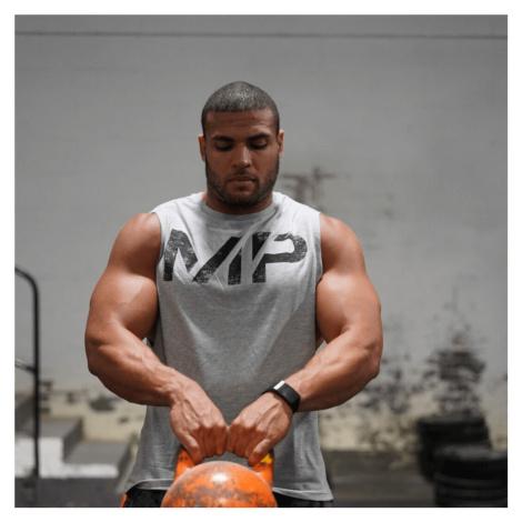 MP Men's Grit Tank - Grey Marl Myprotein