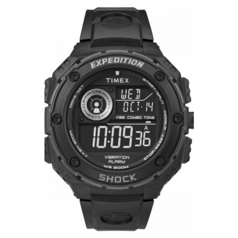 Mens Timex Indiglo Expedition Alarm Chronograph Watch T49983