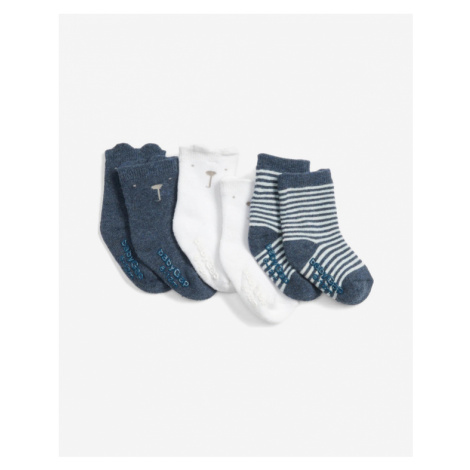 GAP Socks 3 pcs kids Blue White