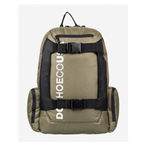 DC Chalkers Large Backpack Green Brown