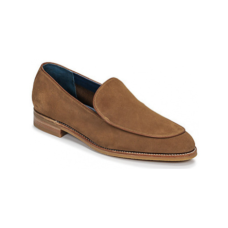 Barker TOLEDO men's Loafers / Casual Shoes in Brown