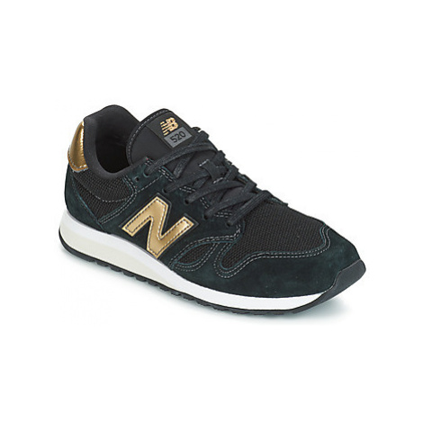 New Balance WL520 women's Shoes (Trainers) in Black