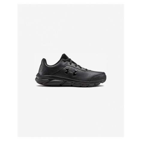 Black boys' sports shoes