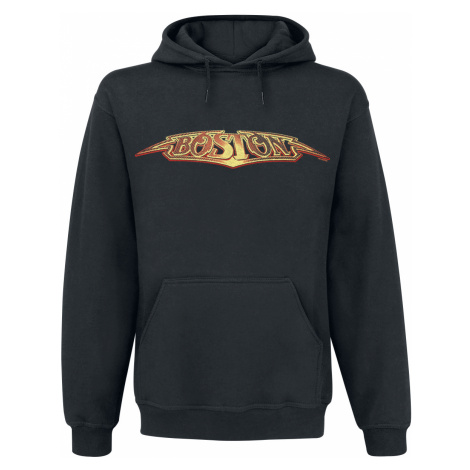 Boston - Logo - Hooded sweatshirt - black