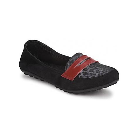Mod'8 CELEMOC JUNIOR girls's Children's Loafers / Casual Shoes in Black