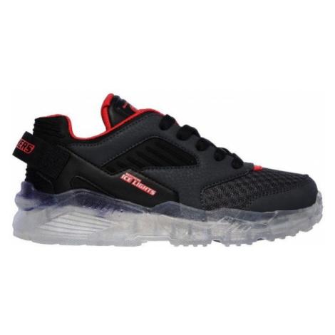 Skechers S LIGHTS black - Boys' light-up sneakers