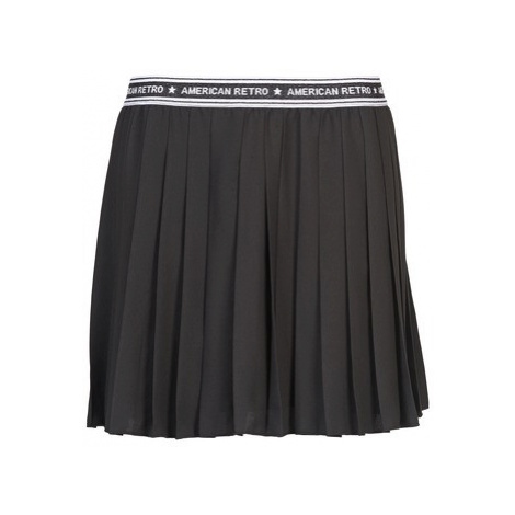 American Retro VERO SKRT women's Skirt in Black