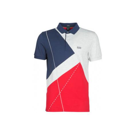 BOSS PADDY 6 men's Polo shirt in Multicolour Hugo Boss