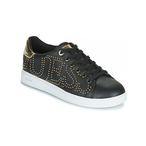 Guess CATER women's Shoes (Trainers) in Black