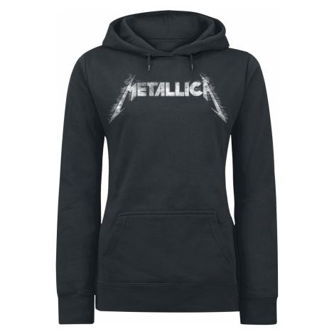 Metallica - Spiked - Girls hooded sweatshirt - black