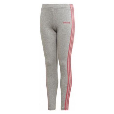 adidas YG E 3S TIGHT grey - Girls' leggings