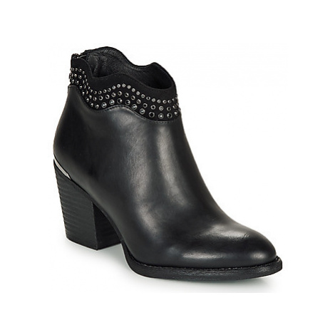 Xti GUILIA women's Low Ankle Boots in Black