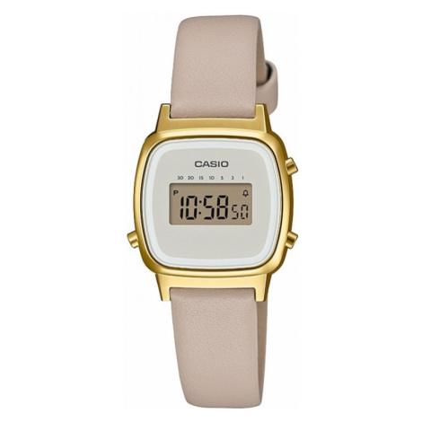 Casio Digital Leather Watch LA670WEFL-9EF