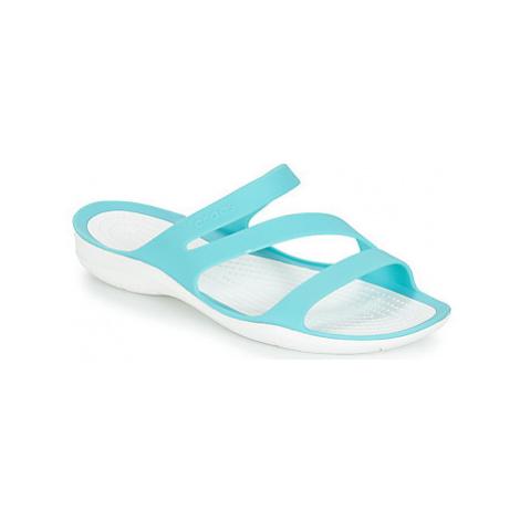 Crocs SWIFTWATER SANDAL W women's Sandals in Blue