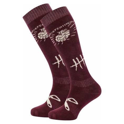 socks Horsefeathers Beerology - Burgundy - men´s