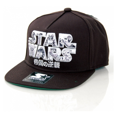 Starter Star Wars Manga Logo Black White SW-038