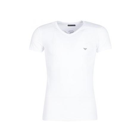 Emporio Armani CC735-110810-00010 men's T shirt in White