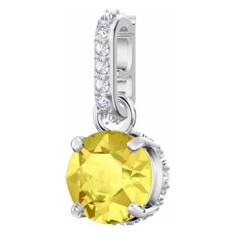 Swarovski Remix Yellow Topaz November Birthstone Crystal Clip Charm