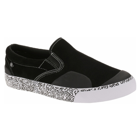 shoes Element Spike Slip - Black White - men´s