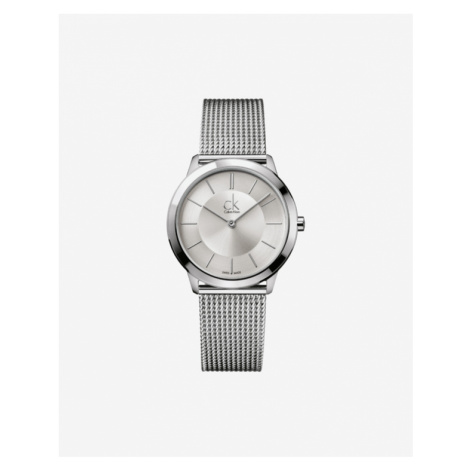 Calvin Klein Minimal Watches Silver
