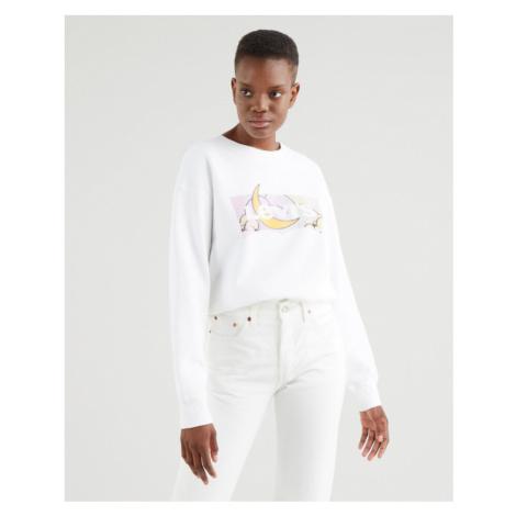 Levi's® Standard Graphic Sweatshirt White Levi´s