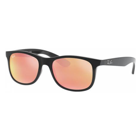 Ray-Ban Rj9062s Unisex Sunglasses Lenses: Pink, Frame: Black - RJ9062S 70132Y 48-16