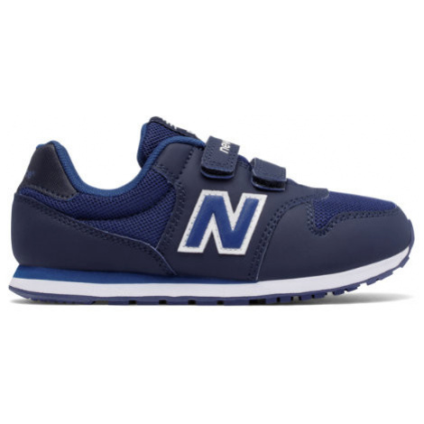 New Balance 500 Hook and Loop Shoes - Navy/Blue