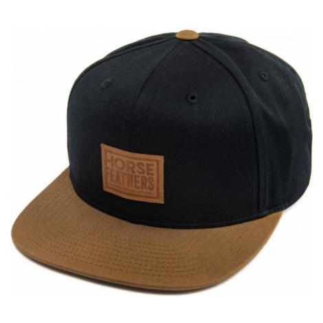 Horsefeathers GRAVES CAP black - Men's baseball cap