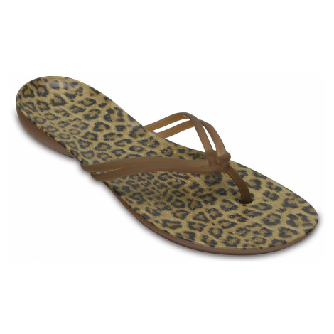 flip flops Crocs Isabella Graphic Flip - Leopard