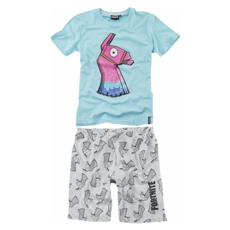 Fortnite - Loot Lama - Children's Pyjamas - light blue/grey mottled