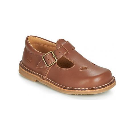 Citrouille et Compagnie GLARCO girls's Children's Shoes (Pumps / Ballerinas) in Brown