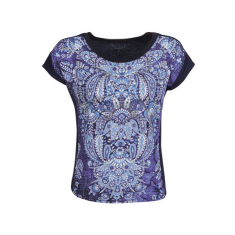 Desigual NAVAJOS women's T shirt in Blue