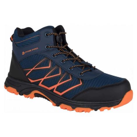 ALPINE PRO JACOBO MID orange - Kids' outdoor shoes