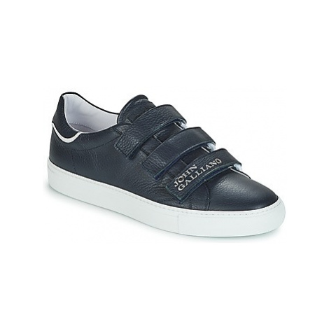 John Galliano 4751 men's Shoes (Trainers) in Blue
