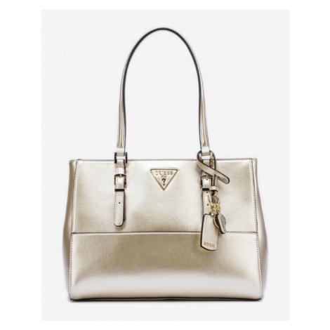 Guess Carys Handbag Gold