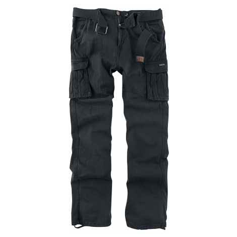 Indicode - William - Cargo Pants - black
