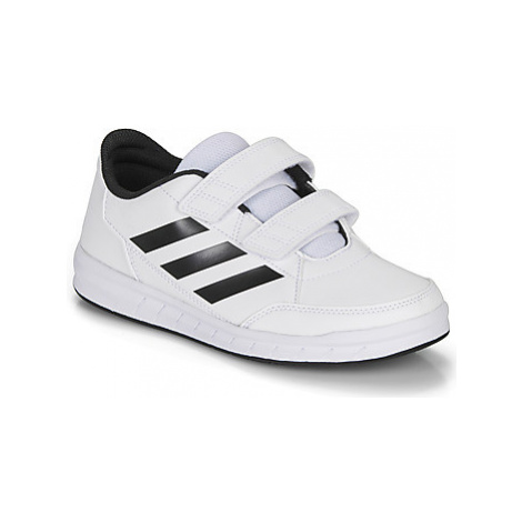 Adidas ALTASPORT CF K girls's Children's Shoes (Trainers) in White