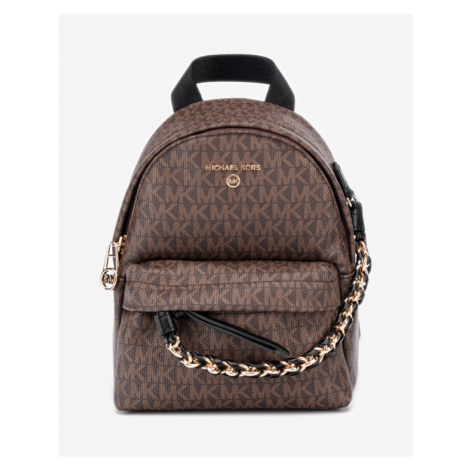 Michael Kors Slater Extra-Small Backpack Brown
