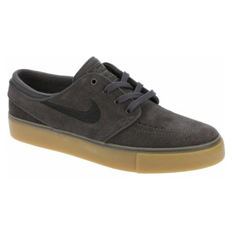 shoes Nike SB Stefan Janoski GS - Thunder Gray/Black/Gum Light Brown - unisex junior